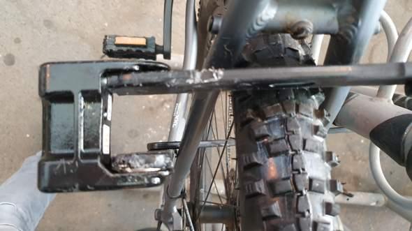 Im Fahrradschloss gebohrt und kann nicht auf aufgeschlossen werden?