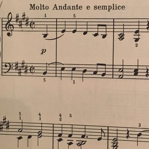 Oben rechts die kreuze ( # ) - (Musik, Noten, Klavier)