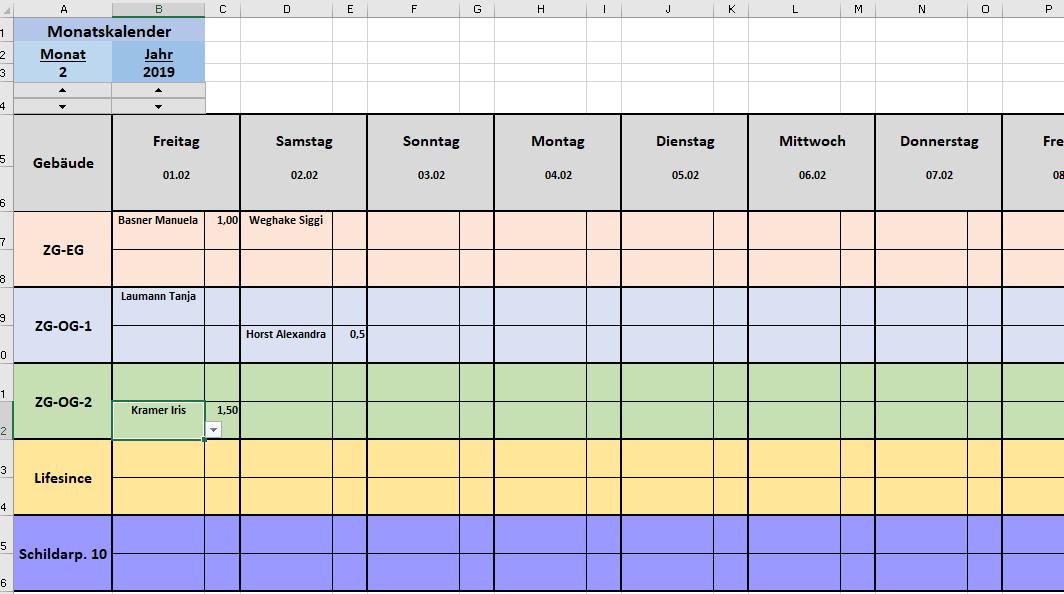 In Excel Formel für rechte Zelle? (excel-formel)