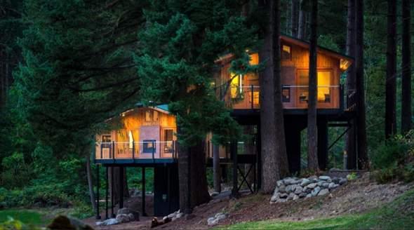 In welchem Haus würdet Ihr wohnen und warum?