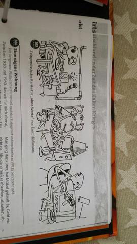 Dieses Bild stammt aus BRD/DDR Zeiten  - (Karikatur, Historie)