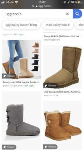 In welchen Laden gibts ugg boots?