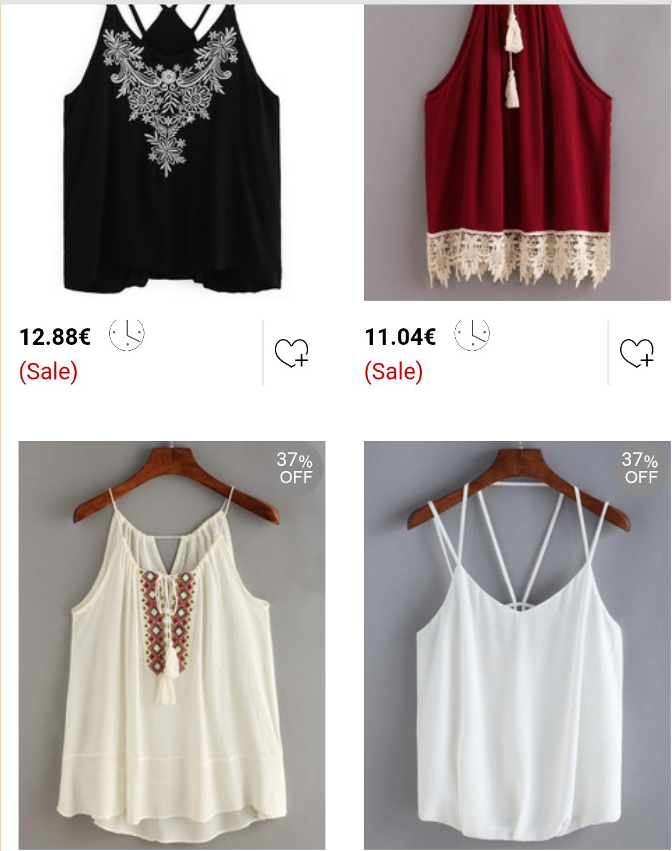 In welchen Läden gibt es leichte Tops/Oberteile oder Kleider für den ...