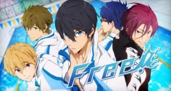 """In welcher Reihenfolge muss man den Anime """"Free"""" schauen?"""