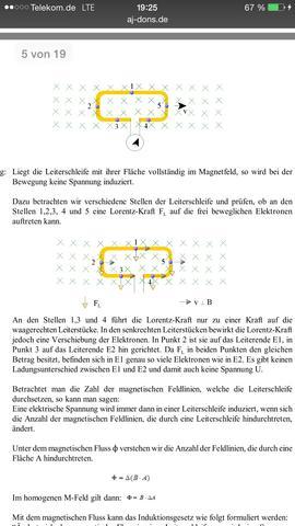 1. bild - (Physik, Induktion)