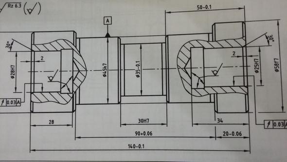 - (Industrie, Technische Zeichnung)