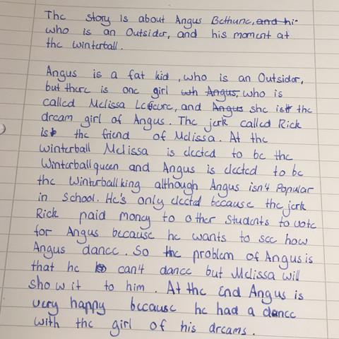 Inhaltsangabe Auf Englisch Brauche Hilfe Schule Arbeit Summary