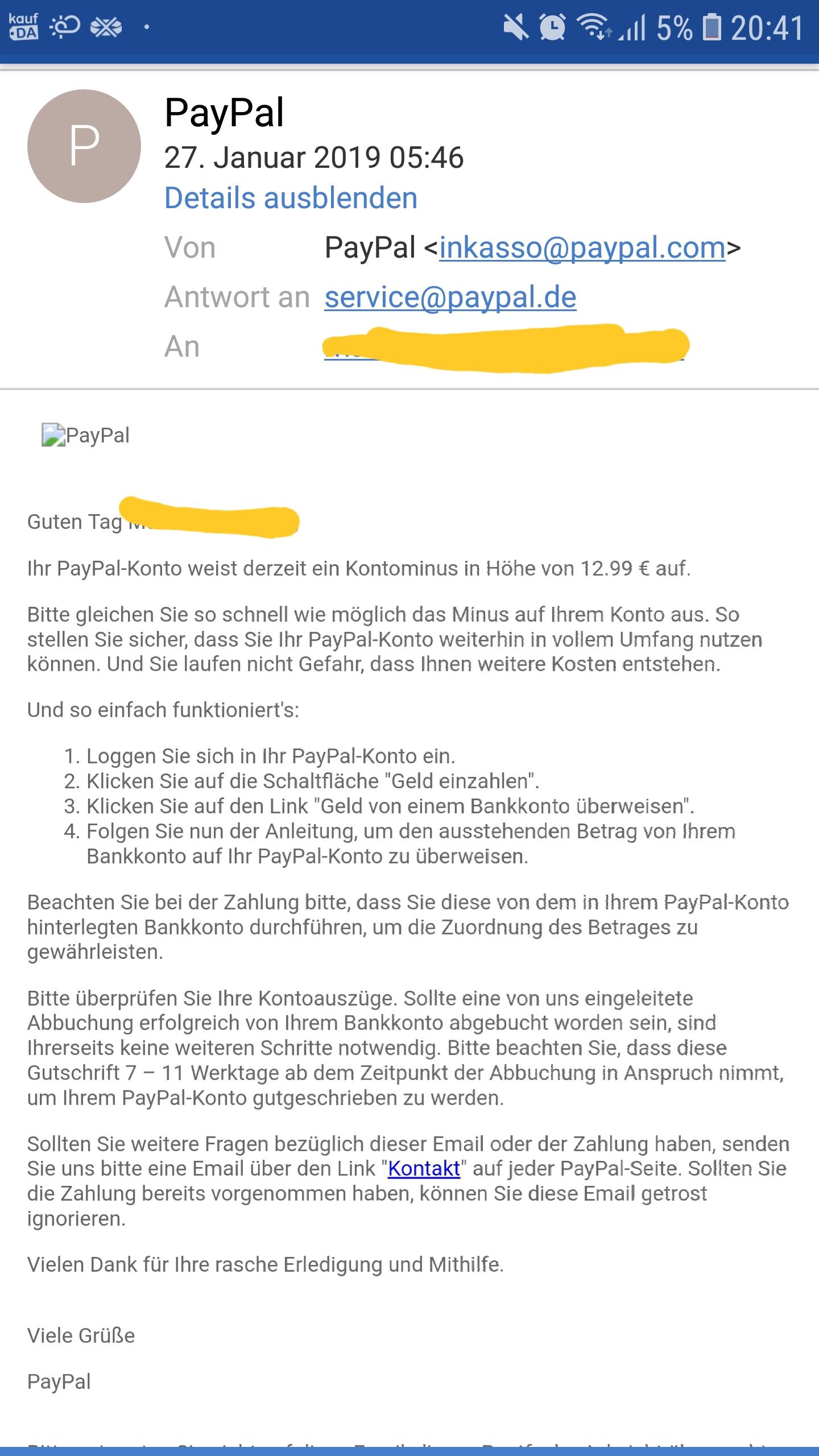 Paypal Rechnung Erstellen : inkassobrief zu fr h recht paypal rechnung ~ A.2002-acura-tl-radio.info Haus und Dekorationen