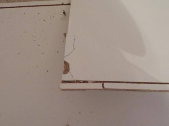 Rückwand Für Schrank innenteil korpus kleiderschrank ungekippt und unten gebrochen
