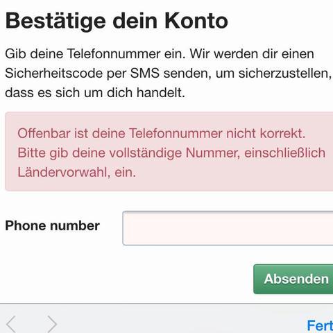 Für fake sms telefonnummer Gibt es