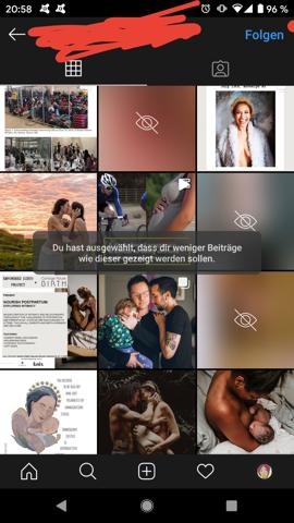 Instagram Aktivität Sehen