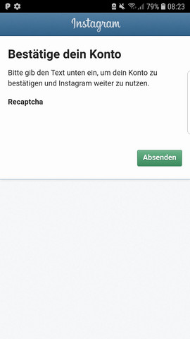 - (Instagram, Log-In)