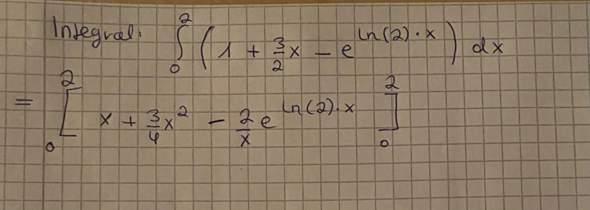 Integral berechnen?
