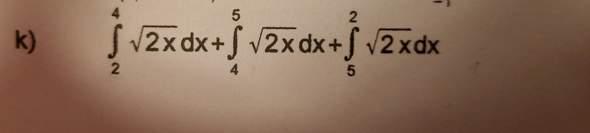 Integrale mit verschiedenen Grenzwerten addieren?
