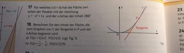 Integrale, warum die normale Funktion minus Stammfunktion?