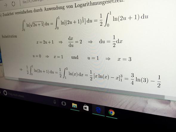 Bild - (Mathematik, Integralrechnung einer veränderlichen)