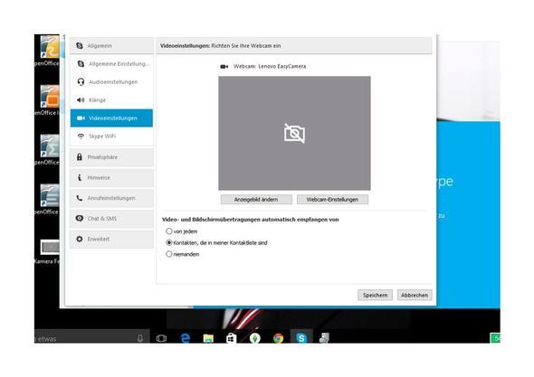 Warum Funktioniert Die Integrierte Webcam Lenovo Easycam Nicht Mehr Computer Hardware Notebook