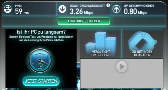 Speedtest 1.2 - (Computer, PC, Internet)