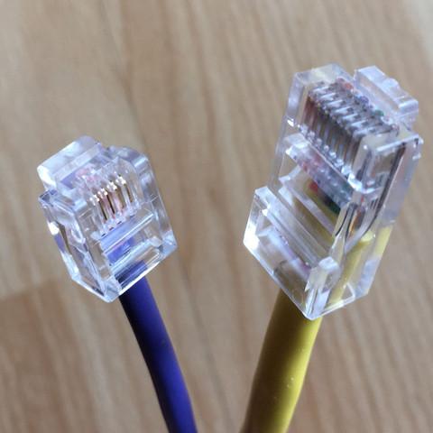 Die beiden Kabel... - (Computer, Internet, Kabel)