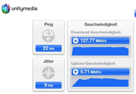 Internet-Speedtest. Wieso erhalte ich auf verschiedenen ...