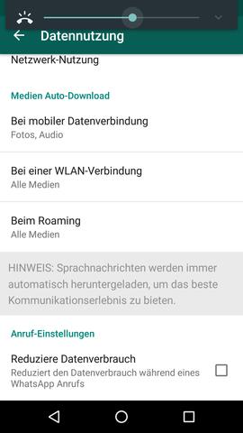 Einstellung WhatsApp - (Internet, WhatsApp, Alcatel)