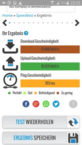 Internetgeschwindigkeit Messen