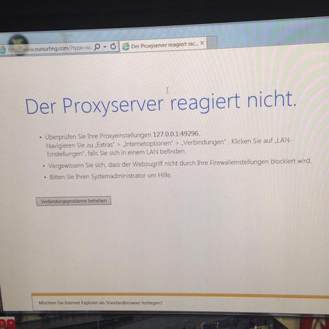 Proxyserver Reagiert Nicht