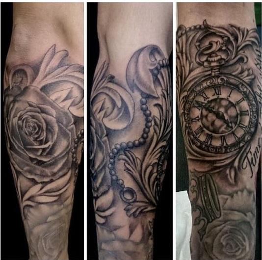 Internetseiten Oder Bilder Zu Dieser Tattooart Tattoo Unterarm