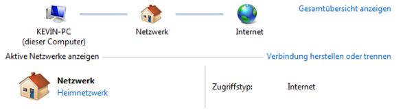 Internetverbindung - (Windows 7, Taskleiste, Internetsymbol)