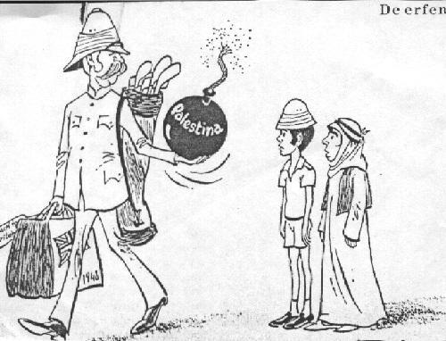 Palästina - (Karikatur, Naher Osten)