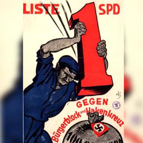 Interpretation Wahlplakat Spd 1930 Politik Geschichte Weimarer