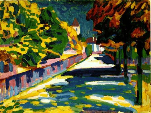 Interpretation zu Kandinskys Werk Autumn in Bavaria?