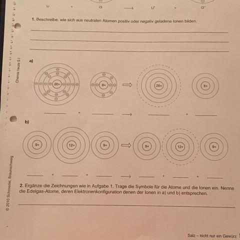Großartig Atom Arbeitsblatt Antworten Ideen - Mathe Arbeitsblatt ...