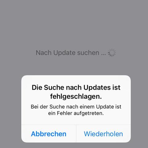Installation nicht möglich  - (Apple, Download, Installation)