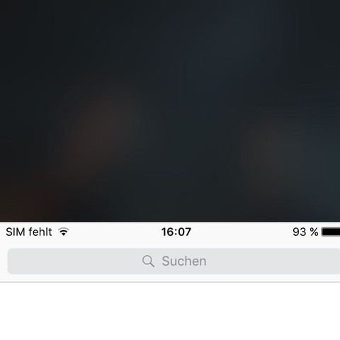 Der Bildschirm rutscht manchmal nach unten und ist nur noch zur Hälfte zu sehen - (Technik, iPhone, Apple)