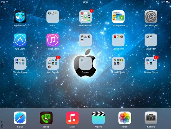 Schwarz am rand - (Unterhaltungselektronik, iPad, Tablet)