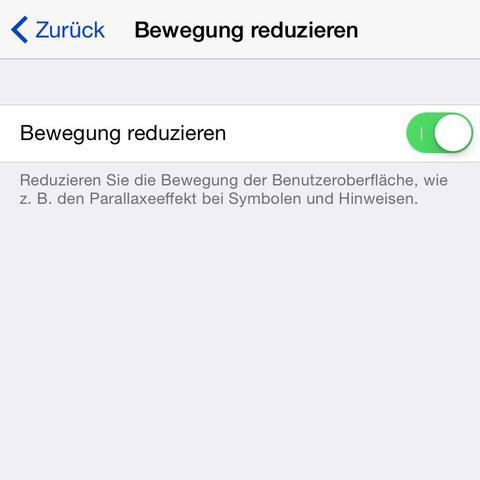 Hier die Funktion in den Einstellung von iOS. - (iPhone, Apple, Akku)