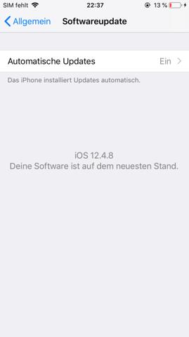 iOS hilfe?
