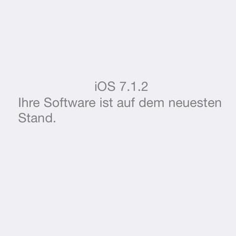 Keine Updates  - (Handy, Apple, Smartphone)