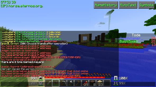 Wir wissen nicht, wie wir die IP von ihm herausfinden!!! - (Minecraft, Server, IP Bann)