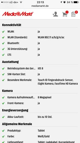 Version 1  - (Technik, Apple, iPad)