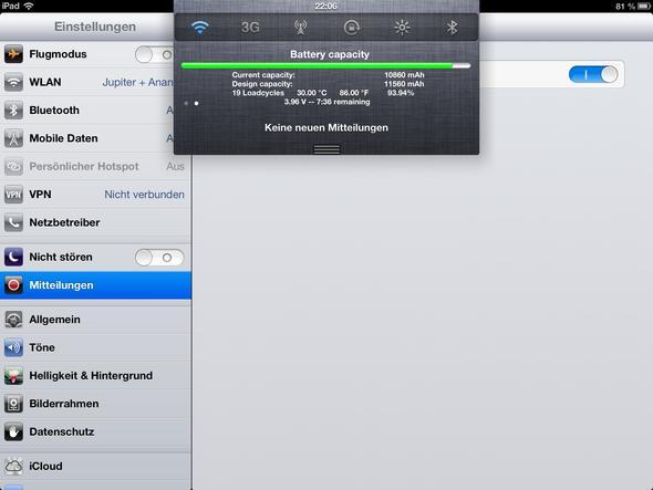 iPad Batterie - (Apple, Akku, iPad)