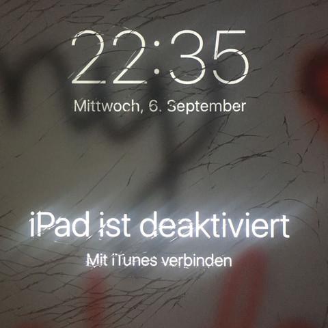 Ein Screenshot vom iPad  - (Apple, iTunes, iPad)