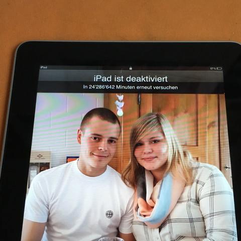 Das ist es - (Apple, iPad, zurücksetzen)