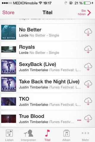 iPhone  - (Musik, iPhone, iTunes)