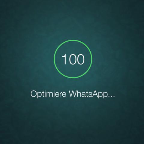 Whatsapp iphone vier apple optimieren - (iPhone, Apple)