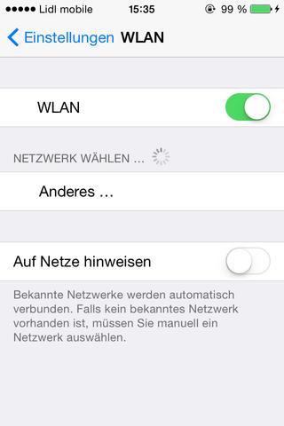 Iphone 4s findet kein Wlan mehr :(