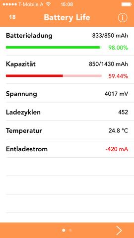 Akkustand - (iPhone, Akku, Austausch)