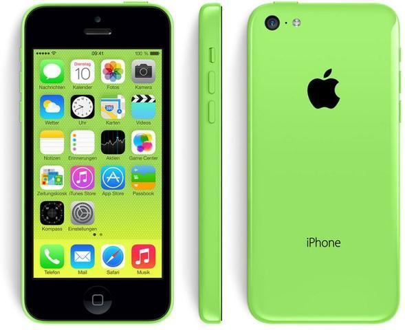 iPhone 5c grün - (iPhone, weiss, Cover)