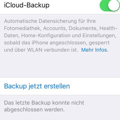 ..... - (iPhone, Backup)